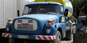 Autodomiešavač - Tatra (5 m3) modrý