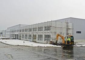 Rekonštrukcia výrobnej haly časť B VEĽKÝ KRTÍŠ