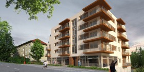 Výstavba luxusných bytov – Kaskády